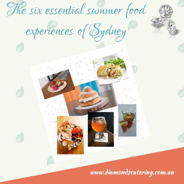 summer food sydney