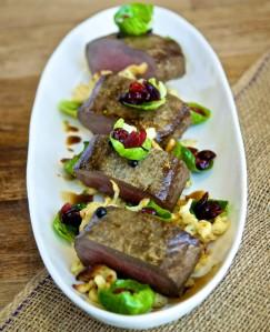 Gastronomy-venison